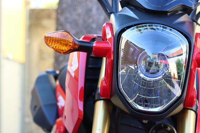 reflektor motocykla