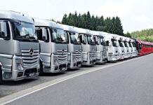 Oklejanie ciężarówek
